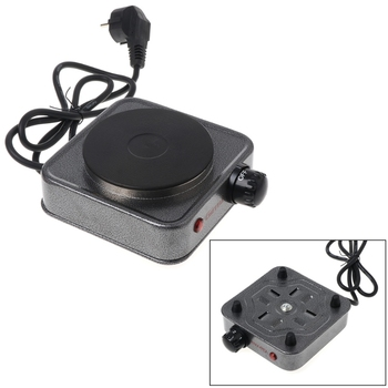Mini kuchenka elektryczna płytka grzewcza do kawy 500W wielofunkcyjny zestaw agd tanie i dobre opinie Metal Stałe płyta grzejna Free_on 425B8QQ100298 230v Blat
