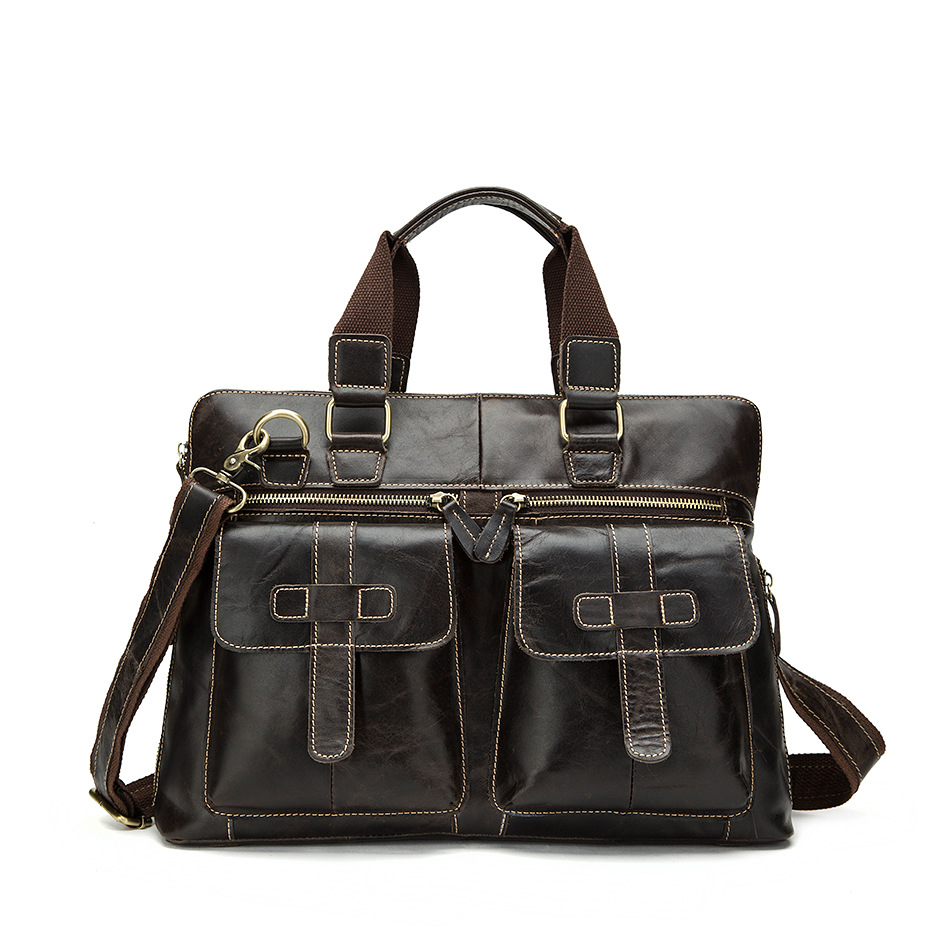 ФОТО 2017 New Multi-Pocket Soft Genuine Leather Men Travel Bags Male Luxury Cowhide Men Handbag Casual Solid Men Messenger Bag A1890