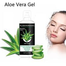 Natural Aloe Vera Gel Face Moisturizer Anti Wrinkle Cream Acne Scar Remover Skin Care