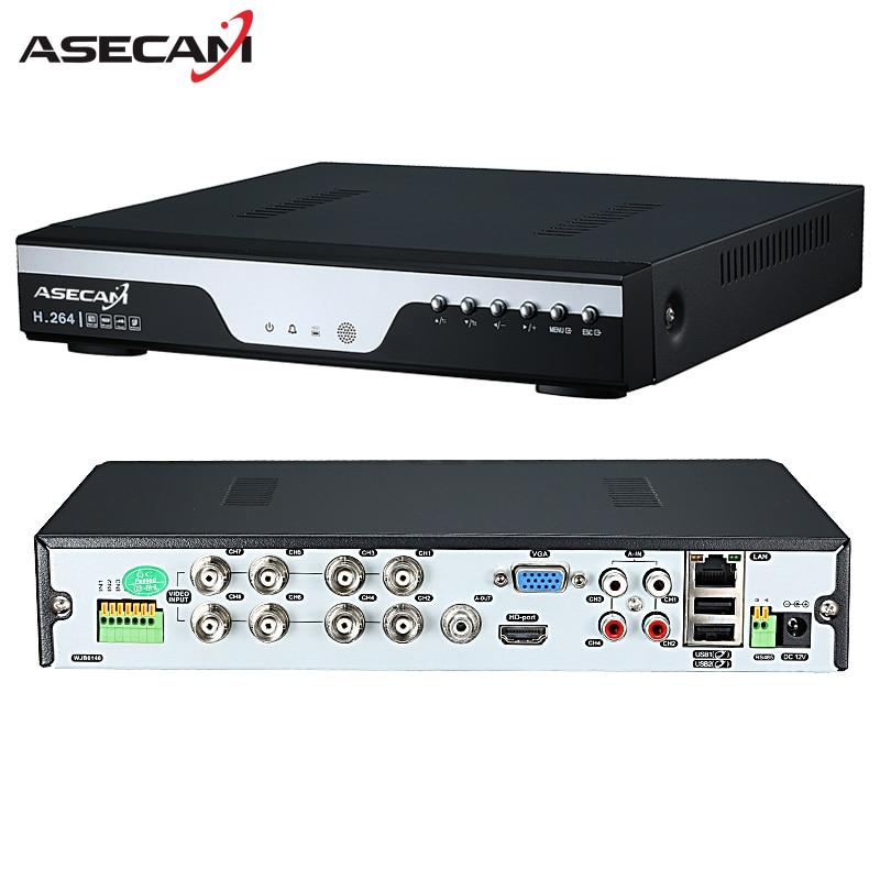 Fabrik 8ch DVR 16ch AHD 1080N 12fps CCTV Video Recorder kamera Netzwerk Onvif 8 Kanal IP NVR 1080 P 4CH mehrsprachige Alarm