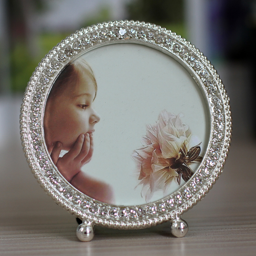 Hot Sale Metal Picture Frame Alloy Photo Frames With Pearls and ...