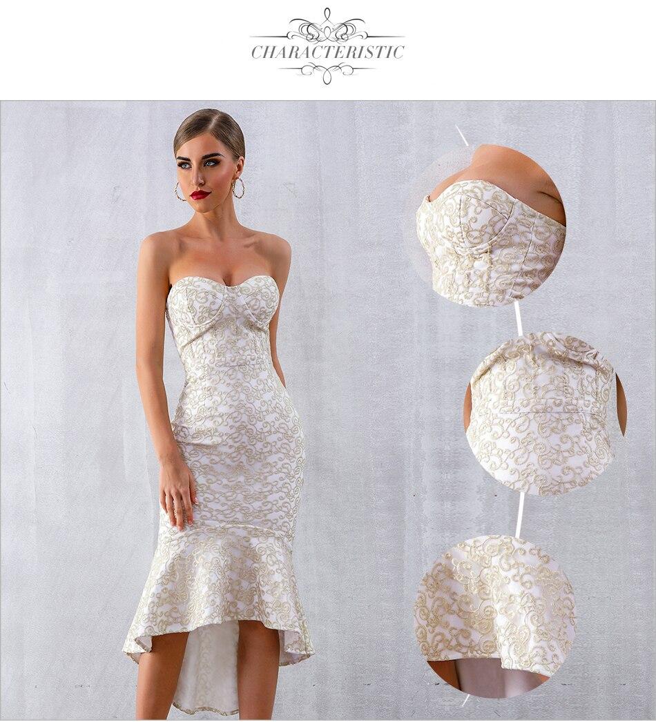 Dress Elegant Celebrity Mermaid 4