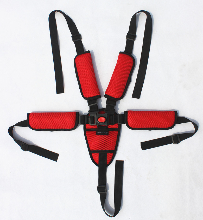 Five Point Safety Harness Strap Baby Kids Stroller 5 Point