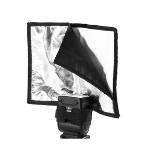 Image 5 - 5 in 1 Speedlight Flash set 3 x Foldable Speedlight Reflector + Snoot Flash Softbox Diffuser + Honeycomb grid with Carrying bag