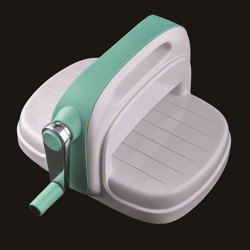 Высечка машина тиснение доска пластик и сталь Скрапбукинг штамп резак зеленая бумага Штамп Резак Cut DIY Скрапбукинг машина - 2