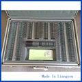 Julgamento Lens Set 232 pcs Lente Caixa De Alumínio Caixa de Alumínio Aro B Classe Qualidade JS-232 Evidência