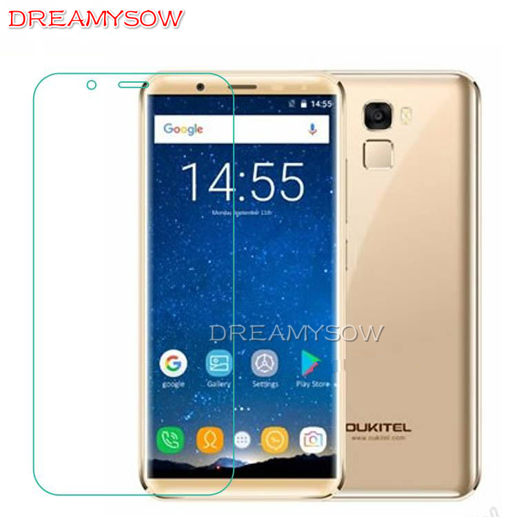 Clear HD 9H Tempered Glass For Oukitel K8 Mix2 U15 Pro U20 Plus C4 C5 K8000 Pro Homtom C8 Screen Protector Toughened Glass Film(China)