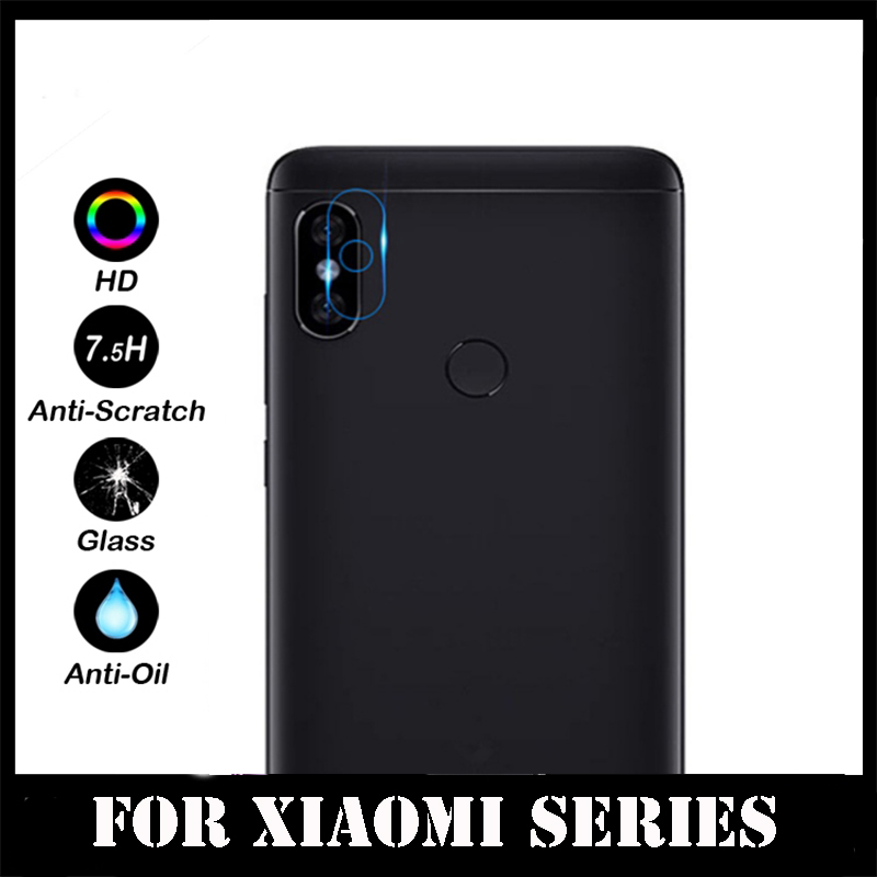 Back Camera Lens Tempered Glass For Xiaomi Note 5 Pro Mi8 SE A2 A1 6X 5X 5S Plus Mix 2S Redmi 4X A1 S2 Protector Protective Film