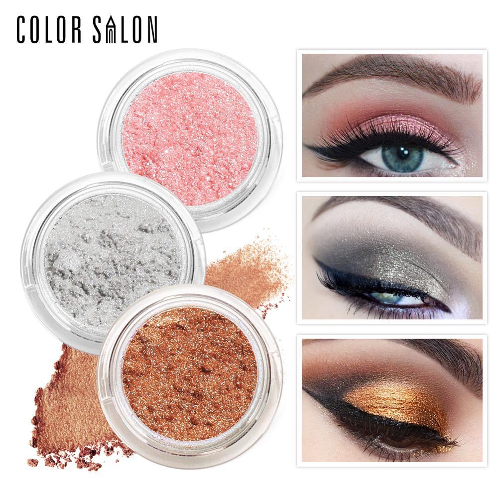 Color Salon Natural font b Eye b font font b Shadow b font Glitter Shimmer Powder