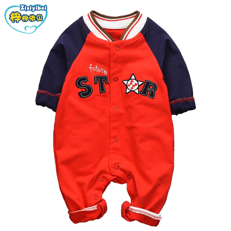 ZIZIYIBEI 2017 Newborn Baby Clothes  Infant Baby Rompers Boy and Girl Long Sleeve Winter Romper Overalls Baby Clothing Set L570 autumn winter baby rompers children clothing set newborn clothes bebes microfleece long sleeve girl clothing infant jumpsuits