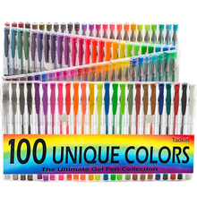 Gel Pens Set 100 Coloring Pens Metallic Pens Perfect For Kids & Adult Coloring Books Doodling Drawing Writing Sketching Pen
