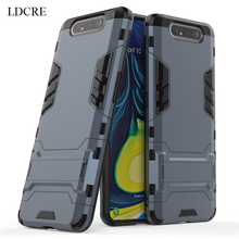 sFor Samsung Galaxy A80 Case Luxury Robot Hard Back Fundas Phone For Cover