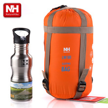 Nature randonnée nouveauté enveloppe extérieure Ultra léger randonnée Camping Mini Ultra petite taille 1900mm x 750mm sac de couchage