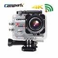 """Campark original 1080 p 4 k 2.0 """"LCD Wifi Esporte Action Camera Diving 30 m Impermeável Capacete Esporte Cam Câmera DV Para Esportes Radicais"""