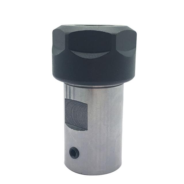 1PC ER11 Collet Chuck Extension Rod Spindle Collet Lathe Tools Holder Inner 5MM 6MM 8MM For CNC Milling Boring Grinding Tool Holder