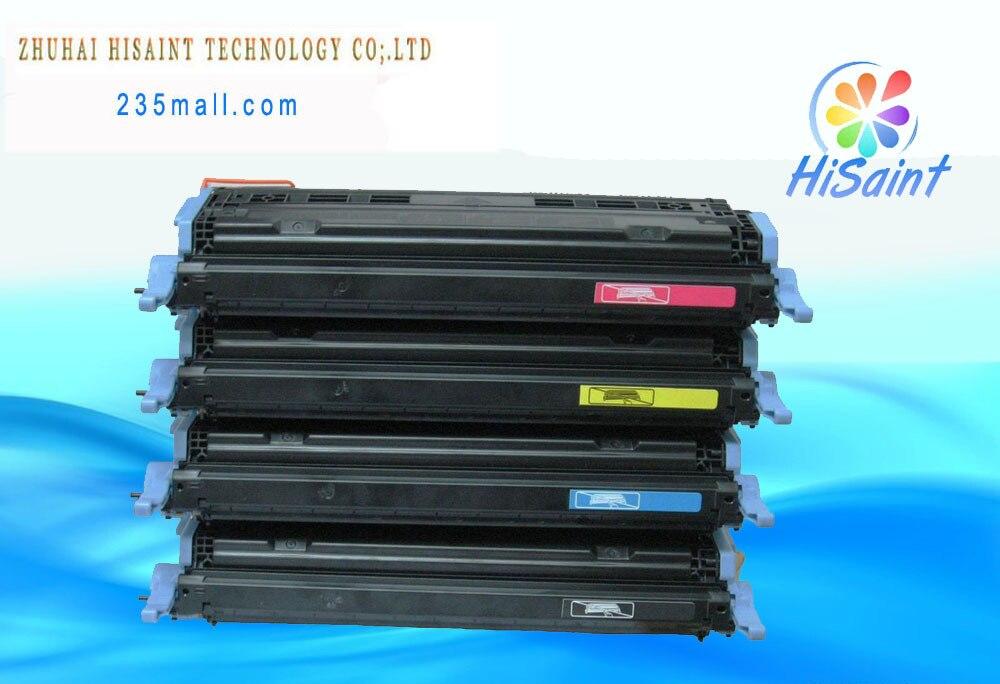 4 * heiße kompatible tonerkartusche für hp q6000a q6001a q6002a q6003a sonder...
