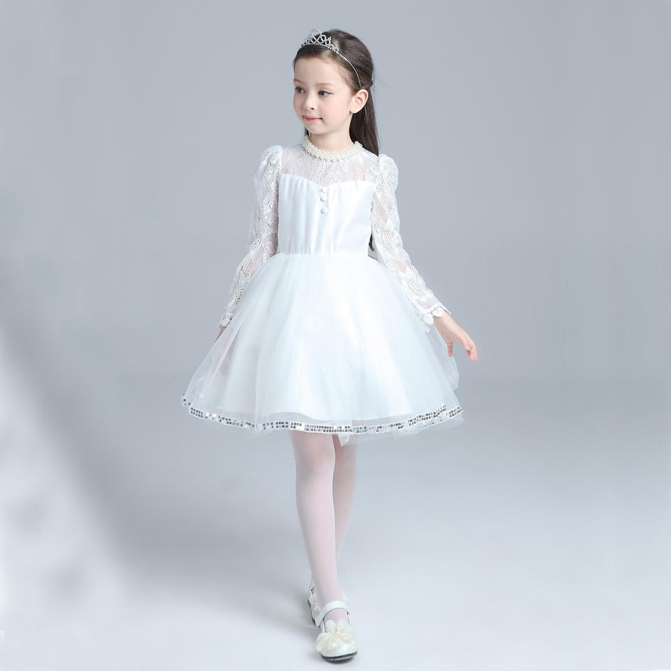 Popular Kids White Dress-Buy Cheap Kids White Dress lots from ...