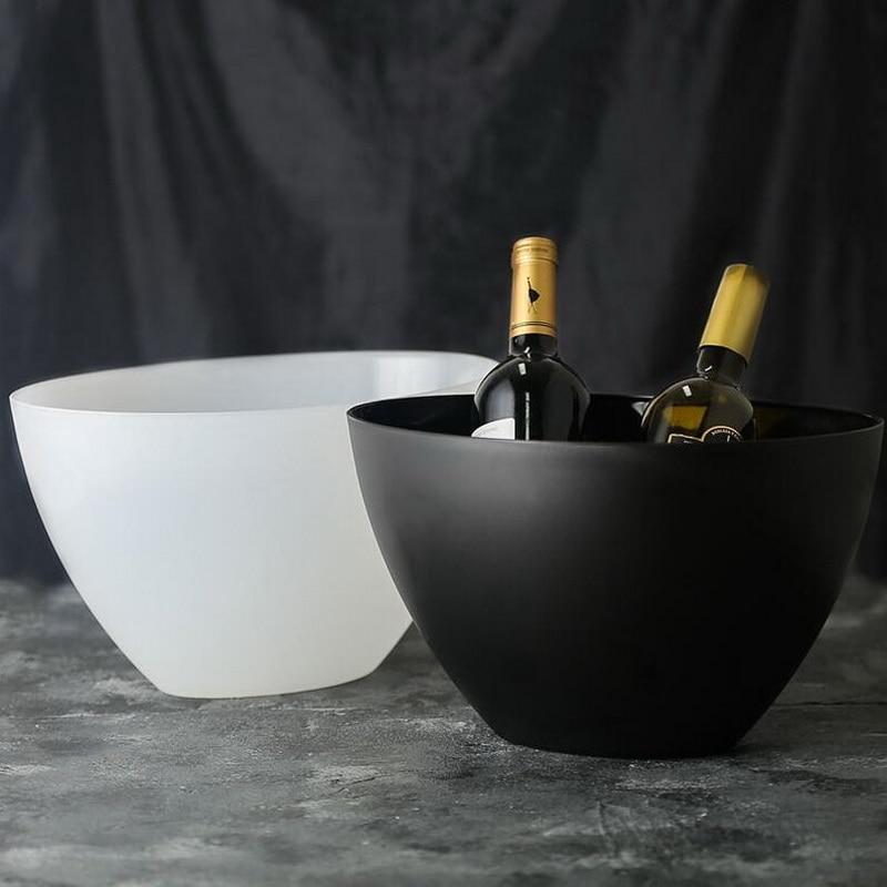 Hot Acrylic Ice Champagne Bucket Plastic Beer