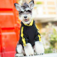 Pet моды прилив собака свитер с капюшоном осень-зима Французский бульдог футболка с коротким рукавом куртка с коротким рукавом Одежда для кошки