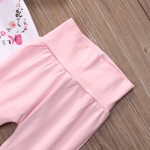 Casual Clothing Set Romper Tops+Leggings Pants 2Pcs