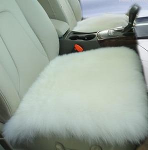 Image 2 - Australia Sheepskin luxury fur cushion /wool covers for car seat inner decorative throw cushion sofa
