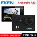 EKEN H9 Pro Action camera ultra 4K With Ambarella A12 chip  2.0' Screen 4k/30fps 1080p/60fps go sport Camera H9Pro
