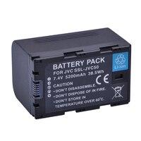 1pc 5200mAh SSL JVC50 JVC50 SSLJVC50 Battery akku for JVC GY HM600 GY HM650 GY LS300 GY HMQ10 Camcorders