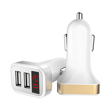 2018 Dual USB 4.8A Car Charger Fast Adaptive Charging For iPhone For Samsung Galaxy