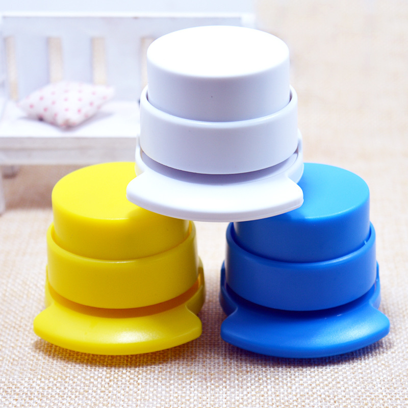 1Pcs Stapleless Stapler Office Staple Free Stapleless StaplerHome Paper Binding Binder  Kawaii Paperclip Office Stationery
