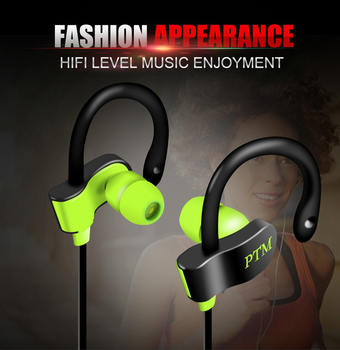 3.5mm Plug Sport Earphone For Iphone 6s 6 Plus High-quaity Music Headset For Huawei Walking Running For Samsung Head Phone Головная гарнитура