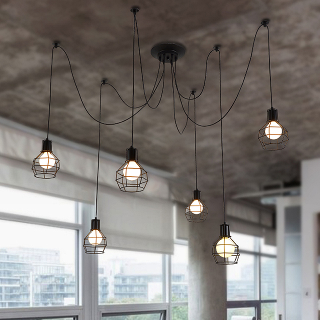 Paese personalità luci gabbia + lampadine Lampadari sala da pranzo ...