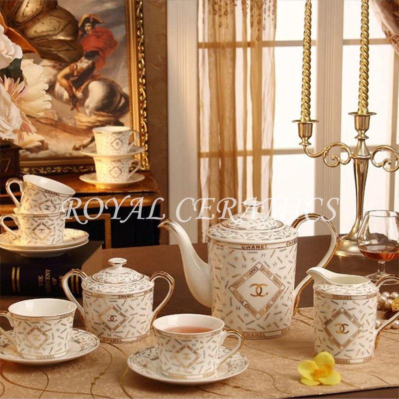 Coffee Cup And Saucer Bone China