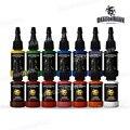 Dragonhawk TATTOO INK 14-PACK Primary Color Set 0.5oz Bottles