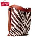 BVLRIGA Shoulder bags handbags women famous brands women leather handbags big size tote bag vintage women bucket bag fashion