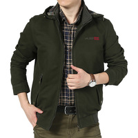 Fashion Italy Style Jacket Men High Quality AFS JEEP Mens Jacket Military Army Green Khaki Zipper