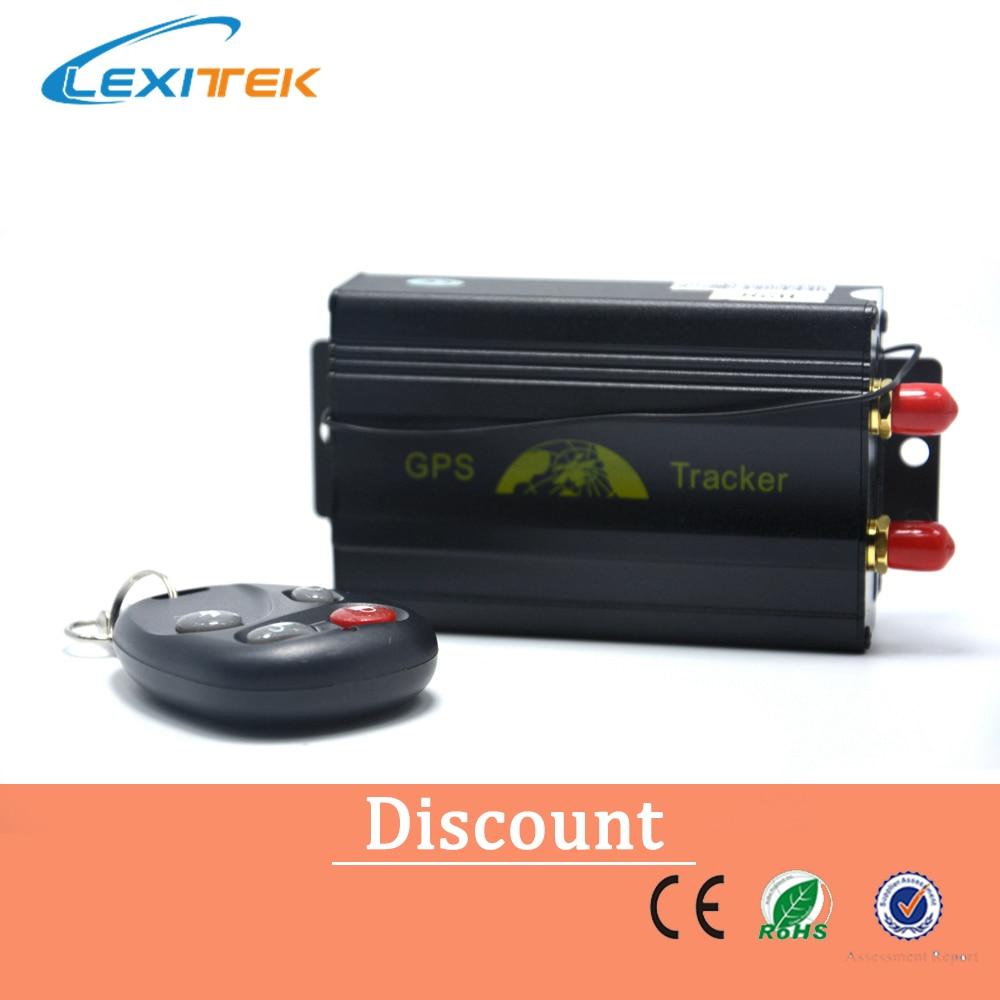 Tk103b Car Gps Tracker Remote Control Quadband Car Alarm