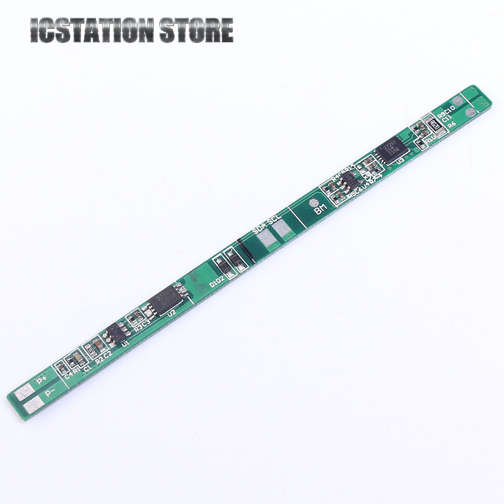 5pcs 2S 7.4V 8.4V 18650 Li-ion Lithium Battery Charging Protection Board PCB 89*5mm Overcharge Short Circuit Protection protection circuit 4s 30a bms pcm pcb battery protection board for 14 8v li ion lithium battery cell pack sh04030029 lb4s30a