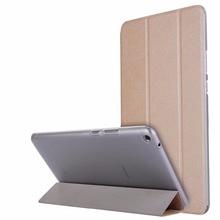 Para Huawei MediaPad T3 8.0 KOB-L09 KOB-W09 para Honor Juego Pad 2 Ultra Delgado $ number Veces PU Cubierta Transparente Del Claro Del Caso de Cuero + Film