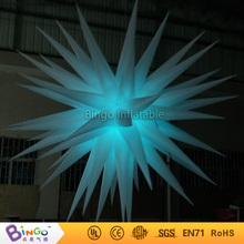 Dia.8ft. led lighting inflatable star party decoration Dia.2.4m lighting decoration flashing toy
