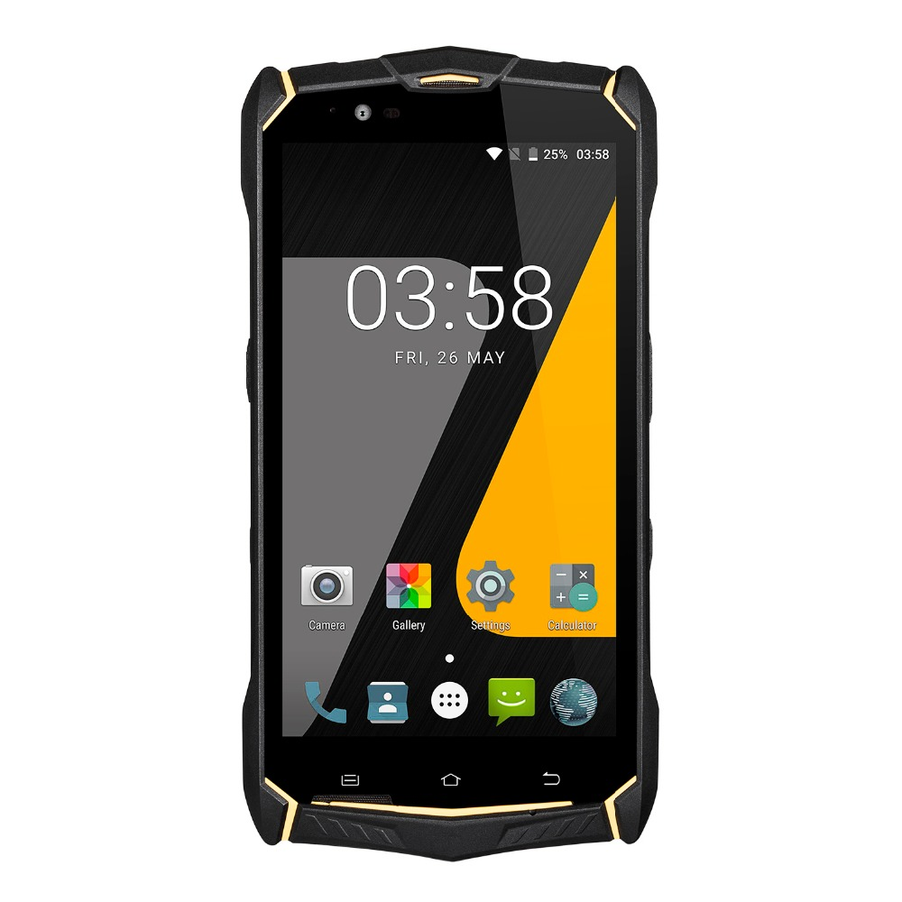 5.5 inch Android 7.0 OS Rugged phone with H1080 V1920 and Anti-explosion Glass screen WIFI  BT4.0  64GB memory