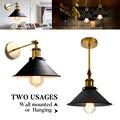 Винтажный промышленный подвесной светильник Эдисона, подвесной светильник для кухни в скандинавском стиле, ретро Лофт, настенный светильн...