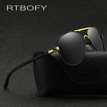RTBOFY Brand Polarized Sunglasses Men New Fashion Eyes Protect Sun Glasses With Accessories Unisex Driving Goggles oculos de sol