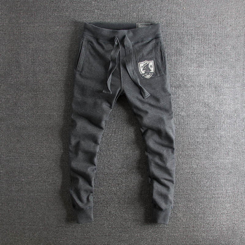 2019 new arrival Sports pants Men's casual pant Men's Korean fashion trousers plus add size Loose Men on sale
