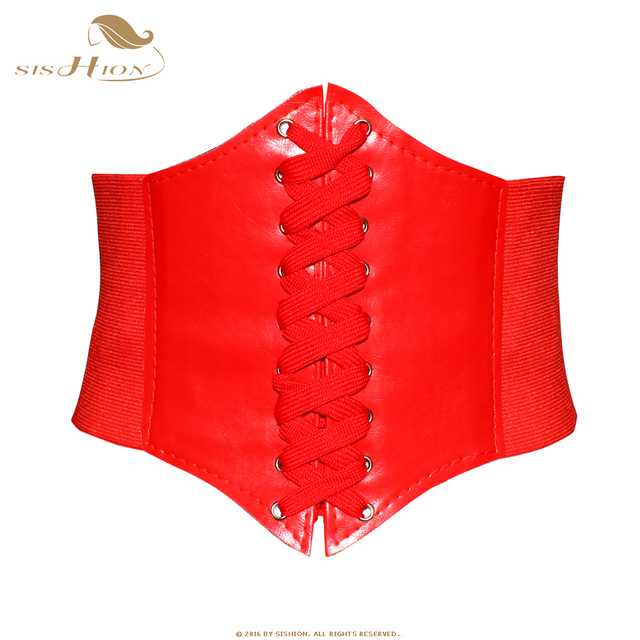 SISHION Black Red Pink Body Shapewear Women Gothic Clothing Underbust Waist Cincher Sexy Bridal Corsets and Bustiers VB0001 2