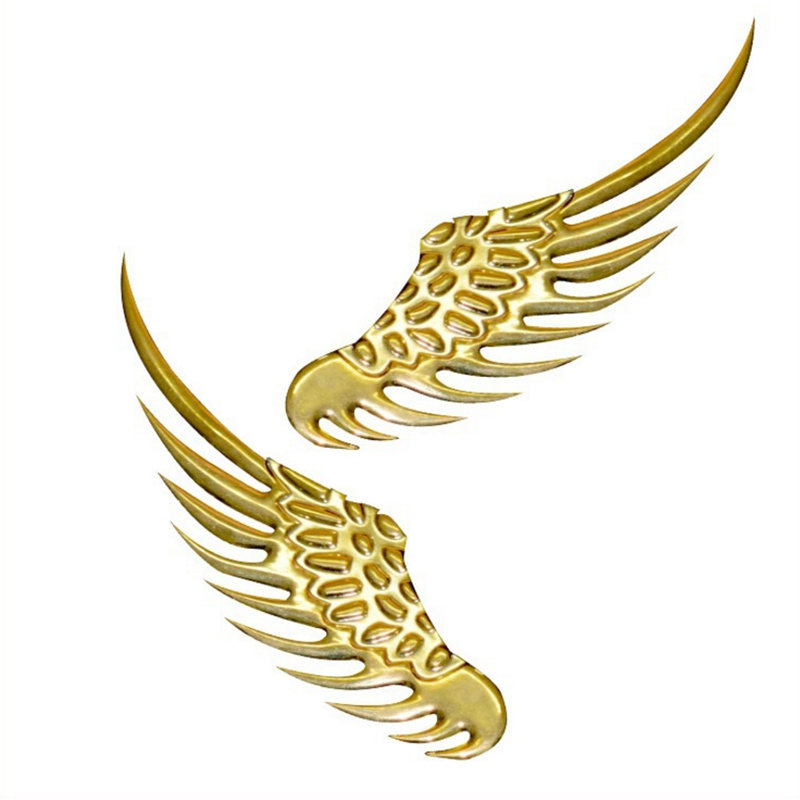 1 Pair Wings Sticker For <font><b>Volvo</b></font> S40 S60 S70 S80 S90 V40 <font><b>V50</b></font> V60 V90 XC60 XC70 XC90 car <font><b>styling</b></font> image