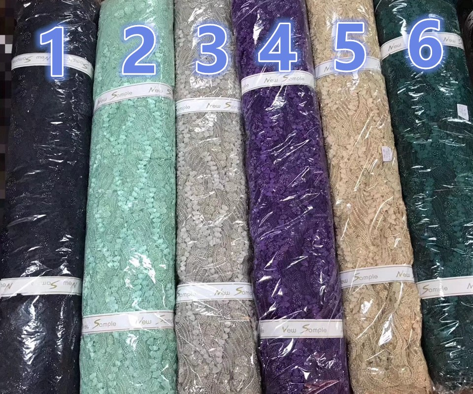 Nigerian Lace Fabric Latest French Lace Fabric 2019 Amazing 3d Beads Lace Fabric Embroidery African Lace Fabric 15 Yards RG469