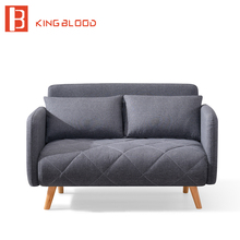 2 Seater Japanese Fabric Kids Folding Sofa Bed(China)