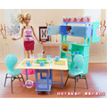 Miniature Furniture Join n Joy Home Dining Set for Barbie Doll House Best Gift Toys for Girl Free Shipping