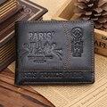 Bolsos cartera de Los Hombres Carteira Carteras Masculina Billeteras Monedero Porte Monnaie Famosa Marca Hombres Hombres Carteras de Estilo de Verano