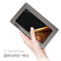 Новейший один mix2s i7 8th планшетный ПК 7 карманный компьютер Intel 8500Y процессор с распознаванием отпечатков пальцев Bluetooth ips 8 г 512 г